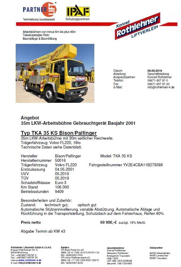 Verkauf TL350